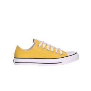 Tênis All Star Converse Seasonal Ox Amarelo Amarelo Tamanho 33
