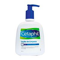 Cetaphil Loção de Limpeza - Limpeza Facial para Peles Secas e Sensíveis - 300ml