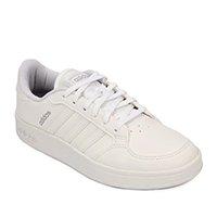 Tênis Adidas Breaknet Feminino - Branco+prata