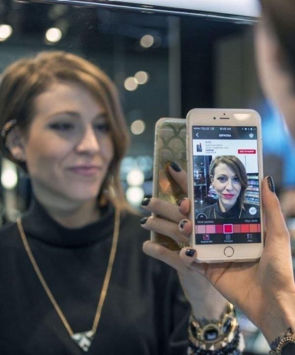 realidade virtual  - beleza e tecnologia  - beauty tech  - maquiagem  - app de beleza  - https://stealthelook.com.br