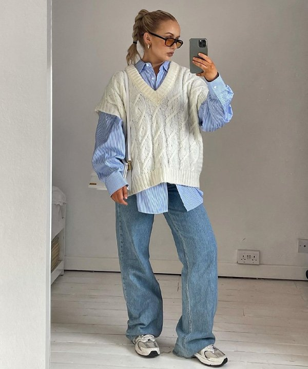 Amy Shaw - roupas oversized - looks oversized - outono - street style - https://stealthelook.com.br
