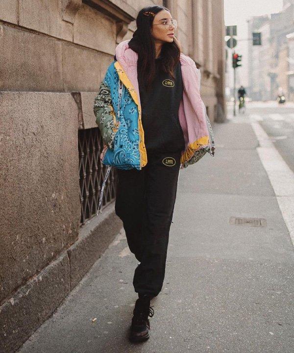 Chiara Biasi - jaquetas puffer - jaquetas acolchoadas - outono - street style - https://stealthelook.com.br