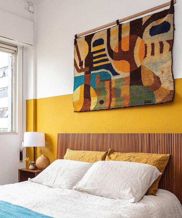 tapeçaria na parede - tapeçaria na parede - decoração com tapeçaria - inverno - brasil - https://stealthelook.com.br