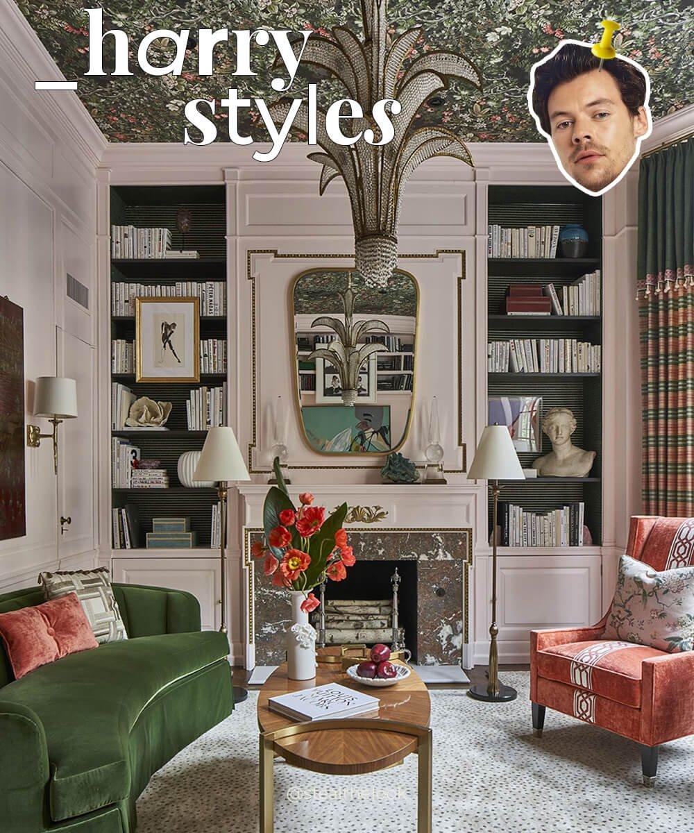decor - celebridade - harry styles - casa - como é - https://stealthelook.com.br