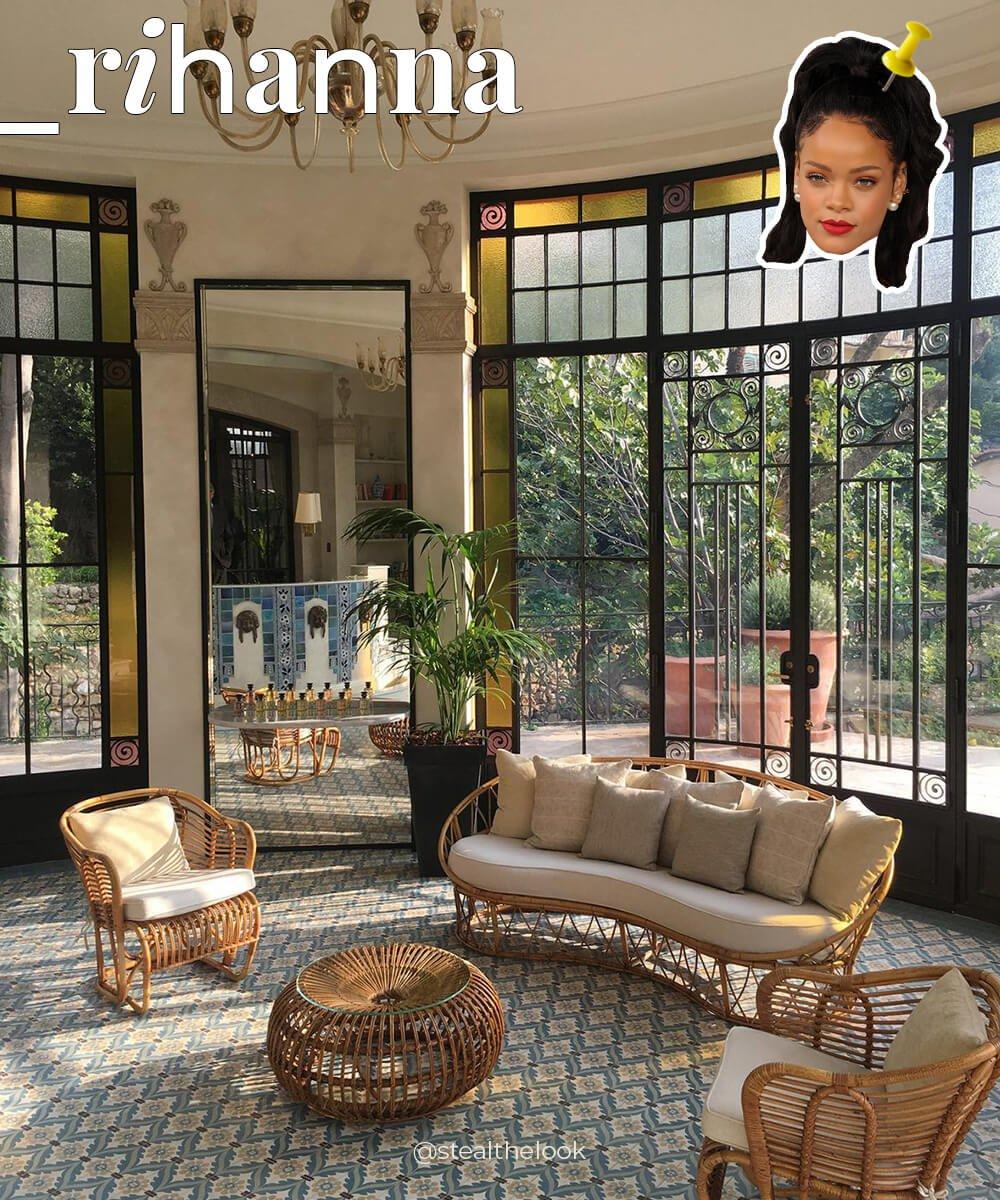 decor - casa rihanna - como é - rihanna - como é - https://stealthelook.com.br