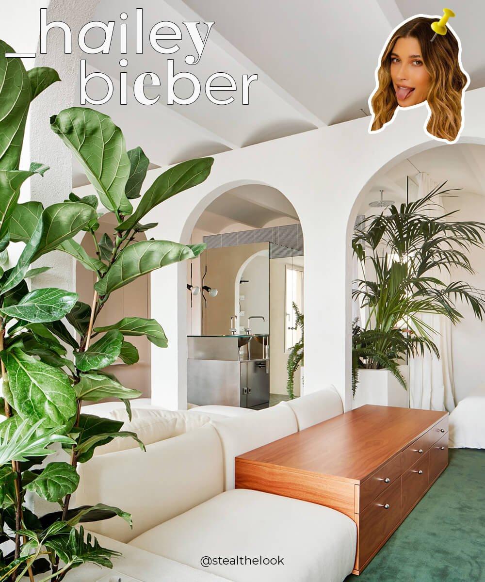 como é a casa - celebridade - hailer bieber - justin bieber - decoração - https://stealthelook.com.br