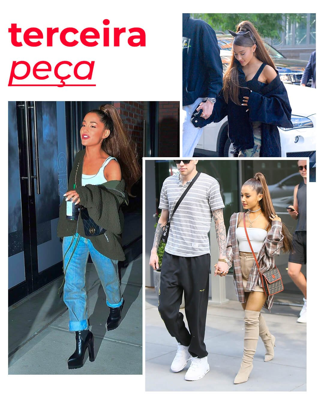 It girls - Ariana Grande - Ariana Grande - Outono - Street Style - https://stealthelook.com.br
