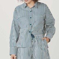 Camisa Feminina Oversized Com Abertura Lateral - 1bee