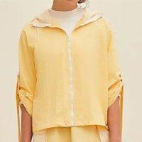 image-1fb26da792eb438db5aa1ef7e058802f jaqueta lebôh esportiva detalhe tela amarelo