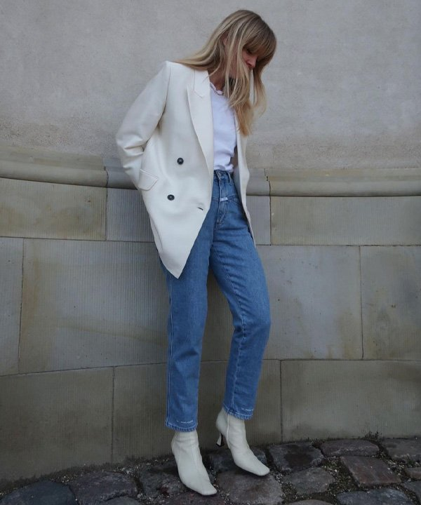 Jeanette Madsen - looks para entrevista de emprego - office looks - outono - street style - https://stealthelook.com.br