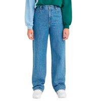 Calça Levi\'s High Waisted Straight - 10001 - Jeans