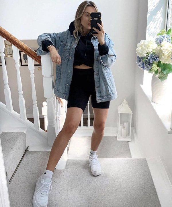Pinterest - jaqueta jeans - looks com jaqueta jeans - outono - street style - https://stealthelook.com.br