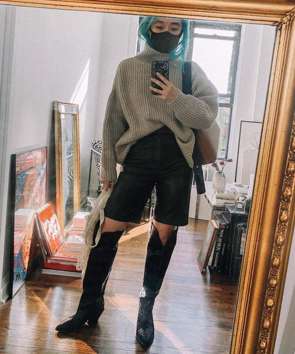 Margaret Zhang - looks de inverno - inverno 2021 - outono - street style - https://stealthelook.com.br