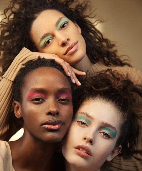 ANDREW GALLIMORE - make colorida - relação com a beleza  - outono - brasil - https://stealthelook.com.br