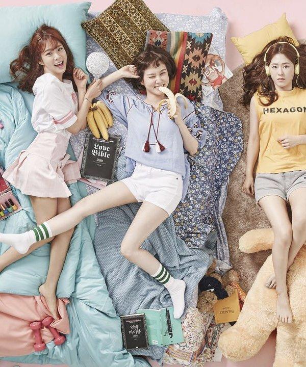 It girls - séries coreanas - séries coreanas - Outono - Em casa - https://stealthelook.com.br