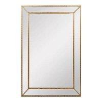 Espelho Trevioso Dourado 140x92 - Vya Store