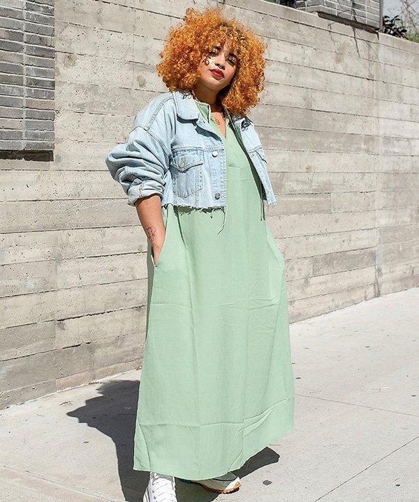 Veronica Bonilla - jaqueta jeans - looks com jaqueta jeans - outono - street style - https://stealthelook.com.br