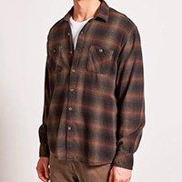 camisa xadrez flanela faded check