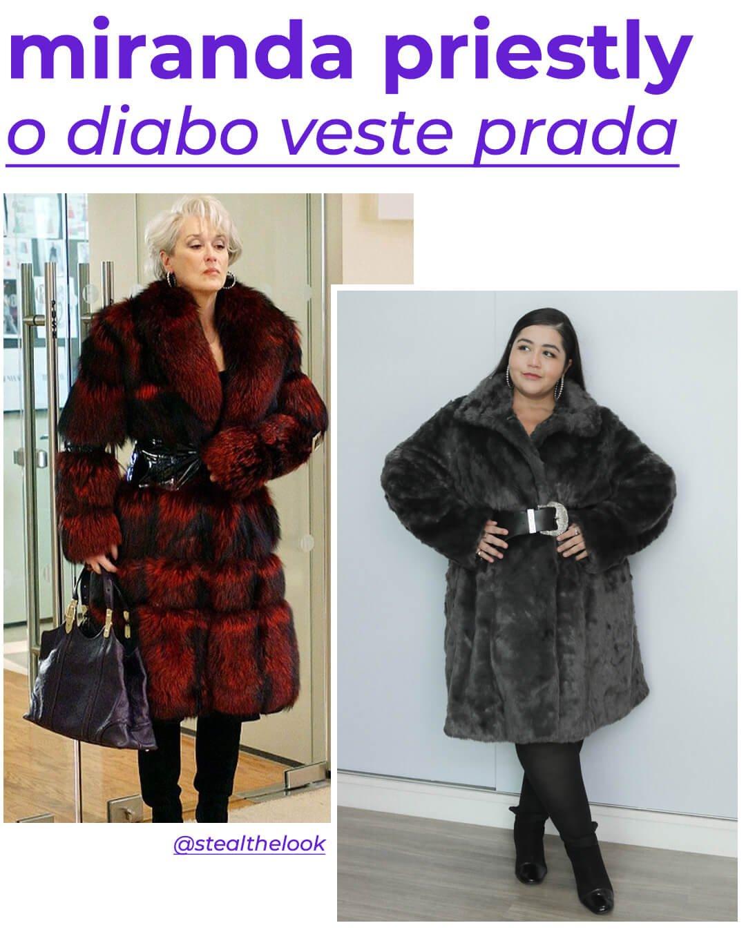 Miranda Priestly, Layla Brígido - looks de personagens - o diabo veste prada - outono - street style - https://stealthelook.com.br