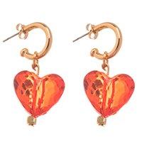 ARGOLA SWEET HEART VERMELHA
