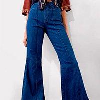 calca flare refarm jeans