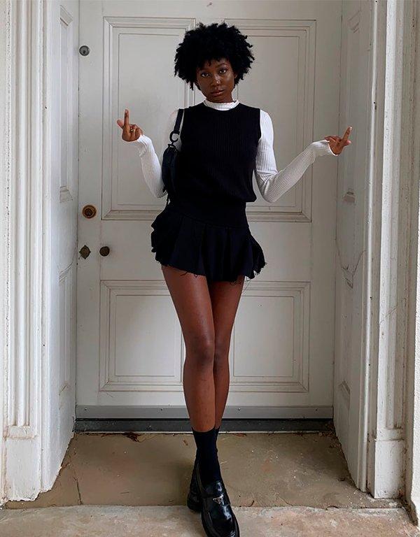 It girls - tendências de 2021 - tendências de 2021 - Outono - Street Style - https://stealthelook.com.br