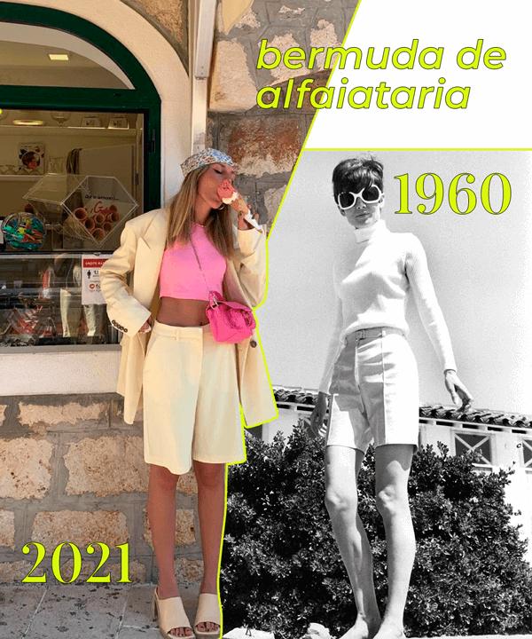 It girls - tendência dos anos 60 - tendência dos anos 60 - Outono - Street Style - https://stealthelook.com.br