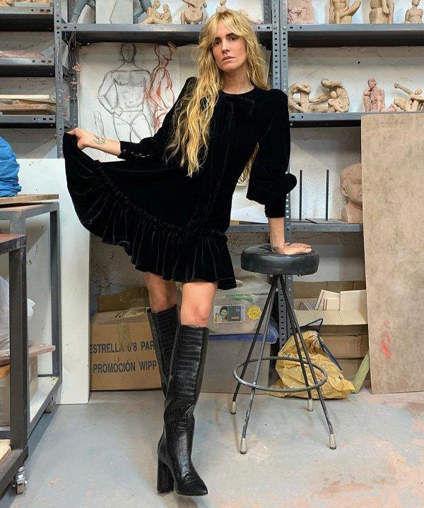 Blanca Miró - vestido no inverno - vestidos no inverno - inverno - street style - https://stealthelook.com.br