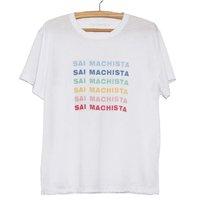 CAMISETA SAI MACHISTA - MEMESFERA