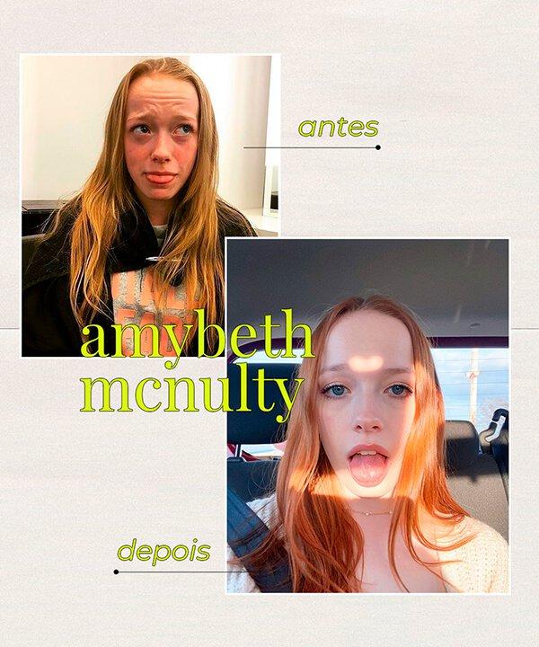 Amybeth McNulty - cabelo ruivo - cabelo tingido - inverno - brasil - https://stealthelook.com.br