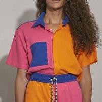 Camisa Tricolor - Linho