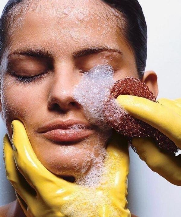 luva de banho  - esponja de banho  - bucha de banho  - banho relaxante  - bucha vegetal  - https://stealthelook.com.br
