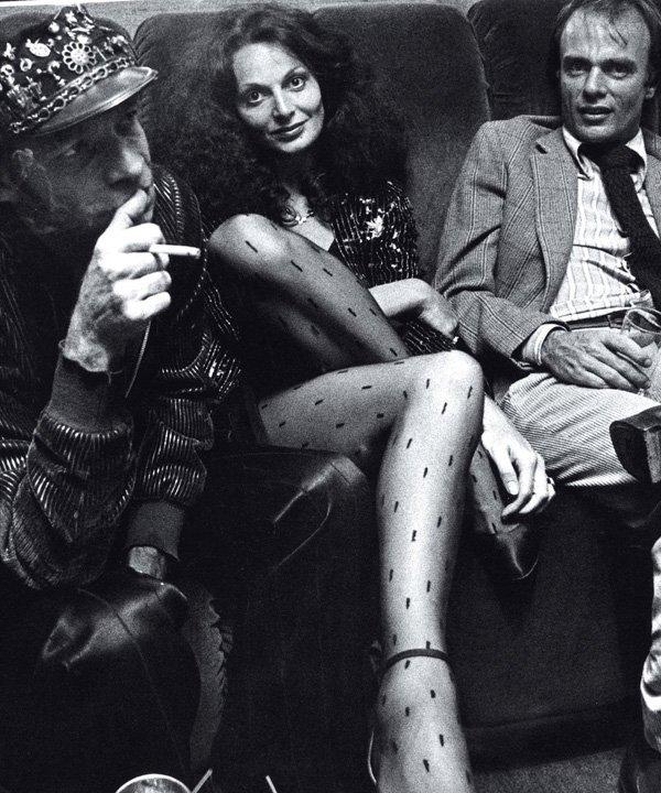 Diane Von Furstenberg no Studio 54 - Diane Von Furstenberg - dvf - outono - street style - https://stealthelook.com.br