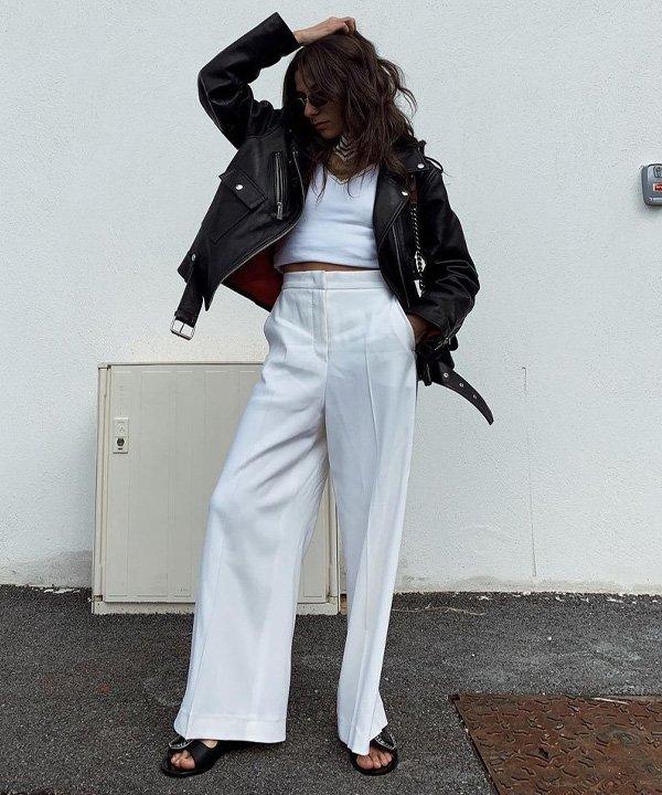 Emilie T. - casacos para comprar neste inverno - jaqueta biker - outono - street style - https://stealthelook.com.br