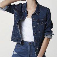 Jaqueta Jeans Feminina - Azul