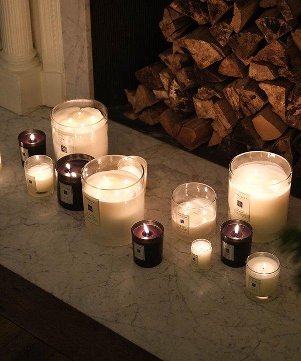 decoração com vela - velas aromáticas - itens de decoração  - inverno - brasil - https://stealthelook.com.br