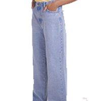 Calça Jeans Pantalona Blue Médio Gang Feminina - Azul