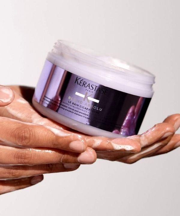 Kerastase  - shampoo em creme  - lançamentos de beleza  - produtos para cabelo  - blond absolu  - https://stealthelook.com.br
