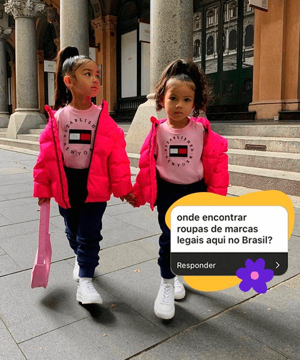 It girls - roupa infantil - roupa infantil - Outono - Street Style - https://stealthelook.com.br