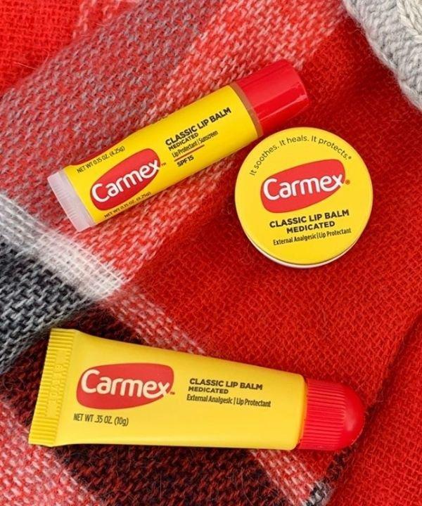carmex - gloss  - lip balm - balm  - hidratante labial  - https://stealthelook.com.br