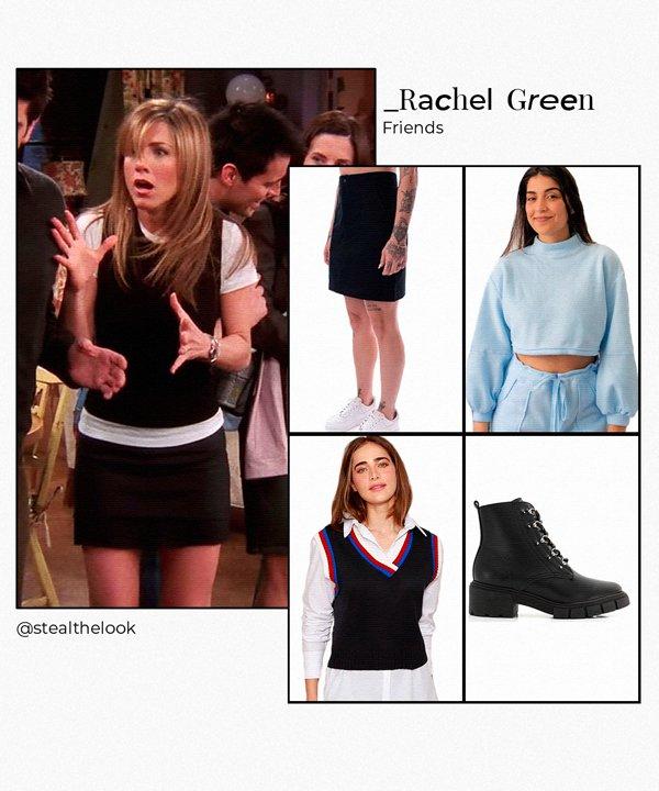 Rachel Green - looks de inverno - looks de inverno - inverno - brasil - https://stealthelook.com.br
