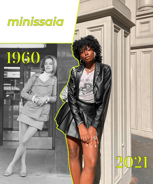 It girls - tendência dos anos 60 - tendência dos anos 60 - Inverno - Street Style - https://stealthelook.com.br