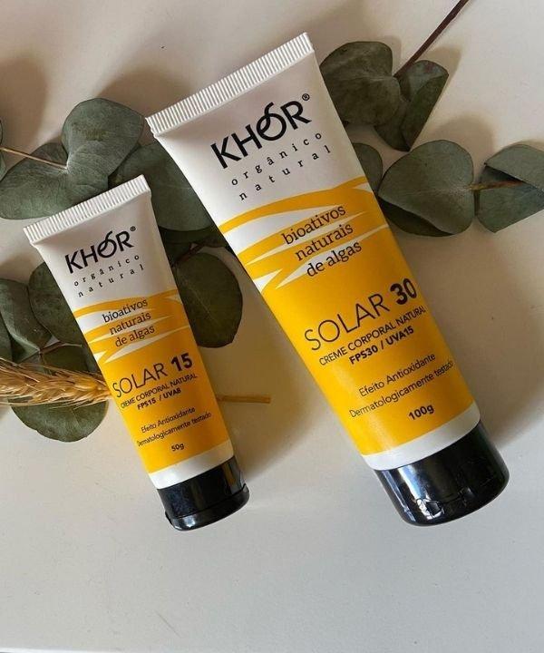 Khor - protetor solar  - marcas de beleza sustentáveis - biodegradáveis  - cosmética natural  - https://stealthelook.com.br