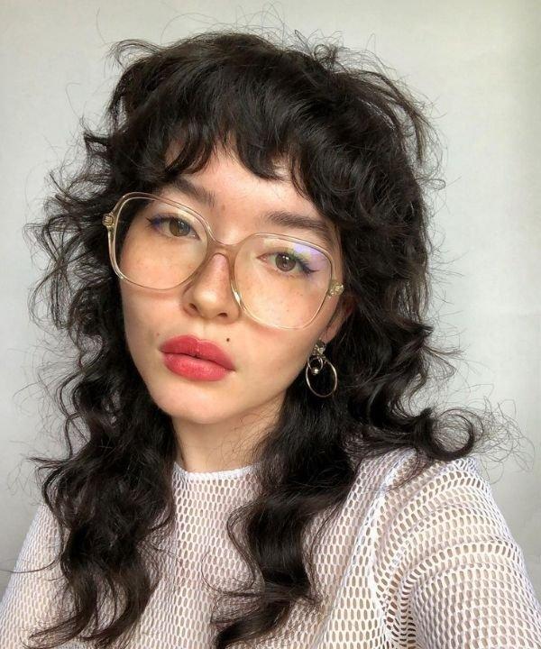 penteados  - moda dos anos 80  - Mullet - moda punk  - cortes anos 80  - https://stealthelook.com.br