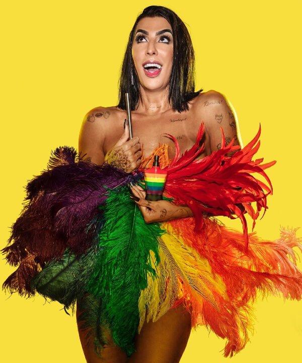 Pepita - lgbt - jean-paul gaultier - instagram - LGBTQIA+ - https://stealthelook.com.br