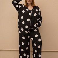 Pijama Clássico Maxi Bolas