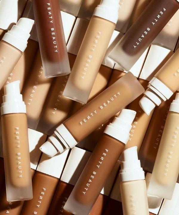 Fenty Beauty - produtos para pele  - produtos de beleza  - pele  - base  - https://stealthelook.com.br