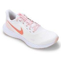 Tênis Nike Revolution Branco+Laranja
