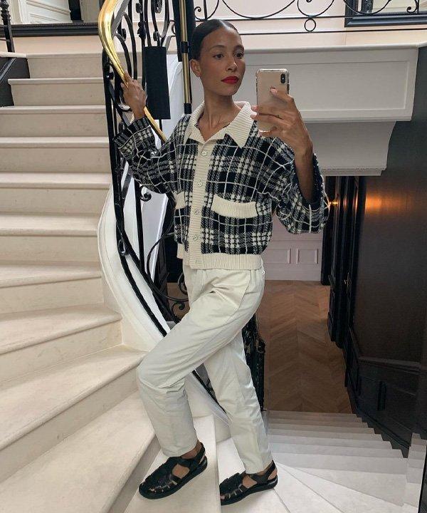 Tylynn Nguyen - casacos para comprar neste inverno - cardigã - outono - street style - https://stealthelook.com.br