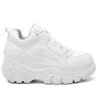 Tênis Sneaker Buffalo Vicerinne Plataforma Conforto Feminino - Branco